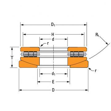 thrust cylindrical roller bearing 80TPS135