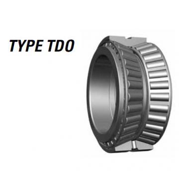 Tapered roller bearing 73551 73876CD