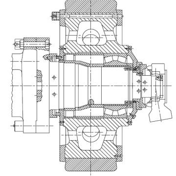 CYLINDRICAL ROLLER BEARINGS Bearing 210RF92 170RJ91