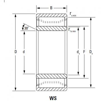 Bearing metric series cylindrical roller bearing A-5248-WM