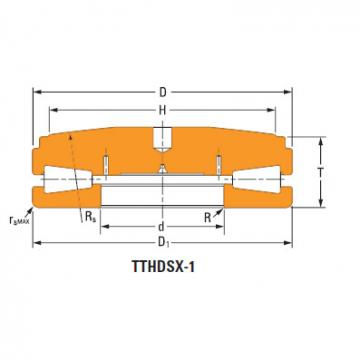 Thrust tapered roller bearings B-6593-c