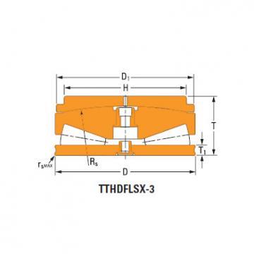 Thrust tapered roller bearings 126TTsX922cO740