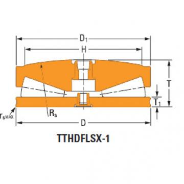 Thrust tapered roller bearings T411fas-T411s
