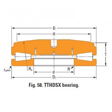 Thrust tapered roller bearings 68TTsX910