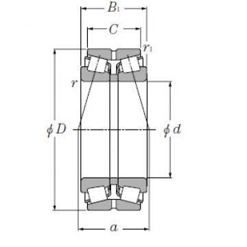 Bearing M262449D/M262410+A