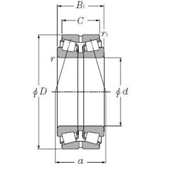 Bearing T-EE640192/640261DG2+A