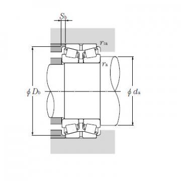 Bearing HM261049D/HM261010A+A