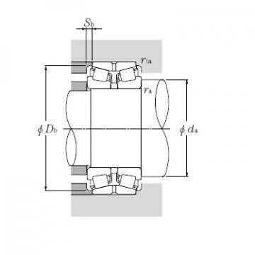 Bearing LM778549D/LM778510G2+A
