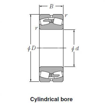 Bearing Spherical Roller Bearings 24038BK30