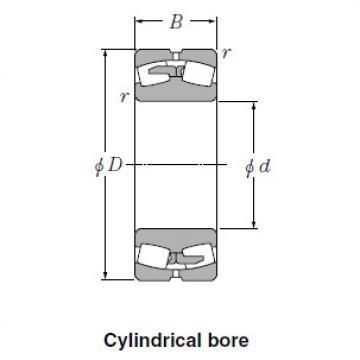 Bearing Spherical Roller Bearings 24140BK30