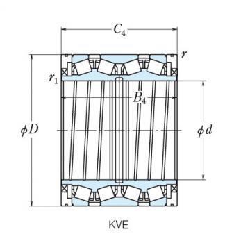 NSK FOUR ROW TAPERED ROLLER BEARINGS  240KVE3302E 101KVE2051