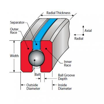 Bearing Thin Section Bearings Kaydon KD047XP0