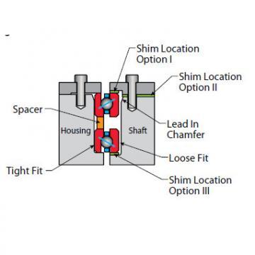 Bearing Thin Section Bearings Kaydon J11008CP0