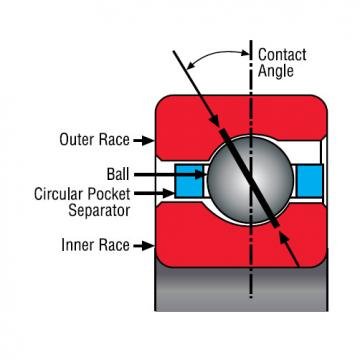 Bearing Thin Section Bearings Kaydon SA025CP0